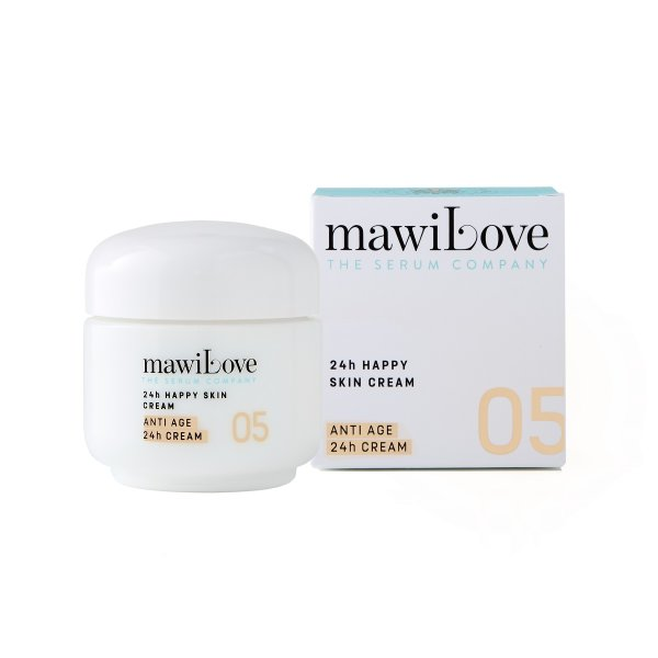 mawiLove Cream 05 24h Happy Skin Cream - Best Buddy Moisturizing Cream, Gesichtscreme 50ml