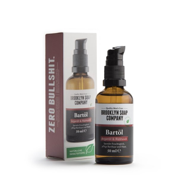 Brooklyn Soap Company Beard Oil, Bartöl 50ml