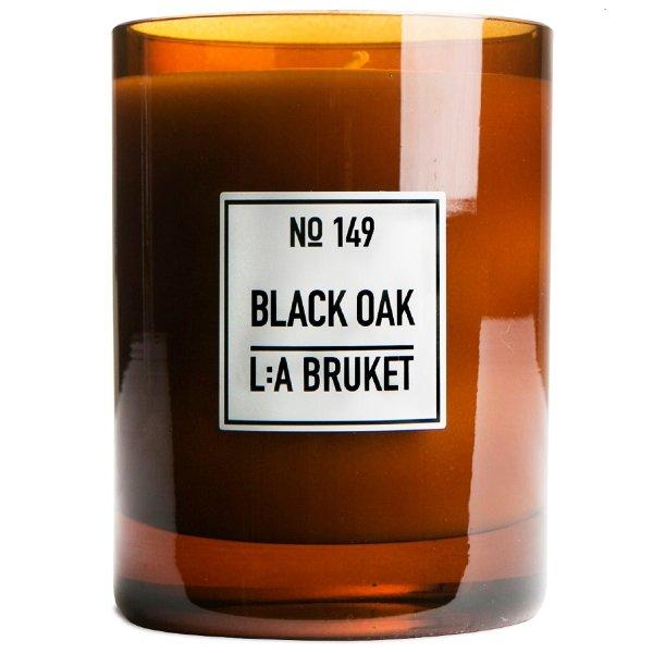 L:a Bruket No. 149 Candle Black Oak, Duftkerze Schwarze Eiche 260g