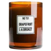 L:a Bruket No. 151 Candle Grapefruit, Duftkerze...