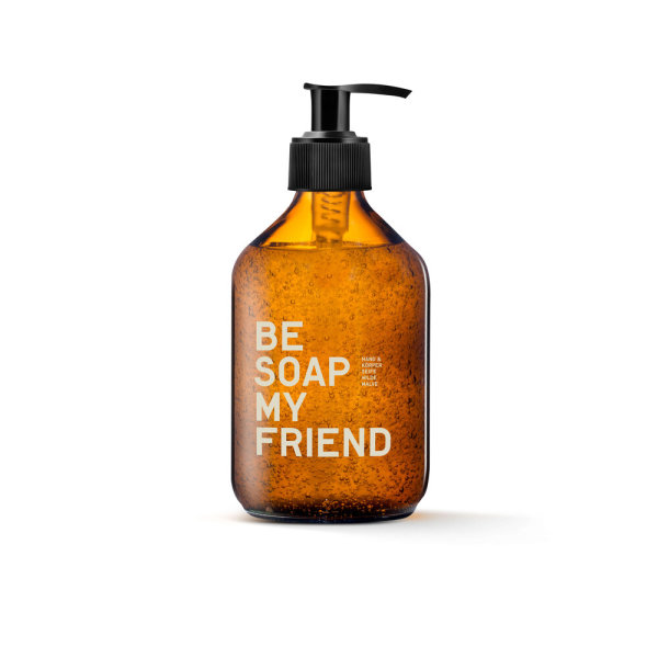 be [...] my friend - be soap my friend, Hand- & Körperseife Wilde Malve 300ml