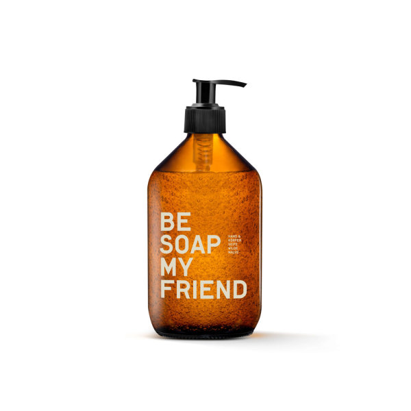 be [...] my friend - be soap my friend, Hand- & Körperseife 500ml