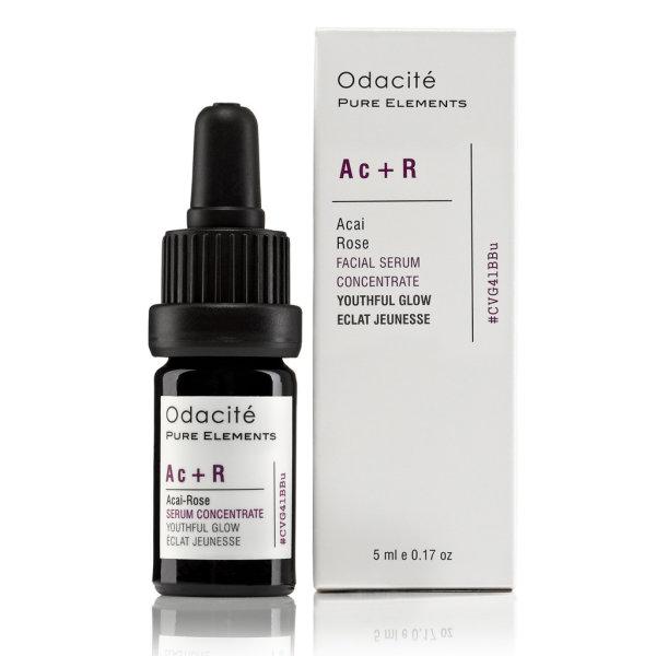 Odacité Ac+R - Youthful Glow Booster (Acai + Rose), Gesichtsserum 5ml