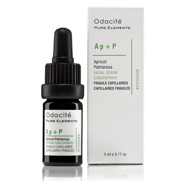 Odacité Ap+P - Fragile Capillaries Booster (Apricot + Palmarosa), Gesichtsserum 5ml