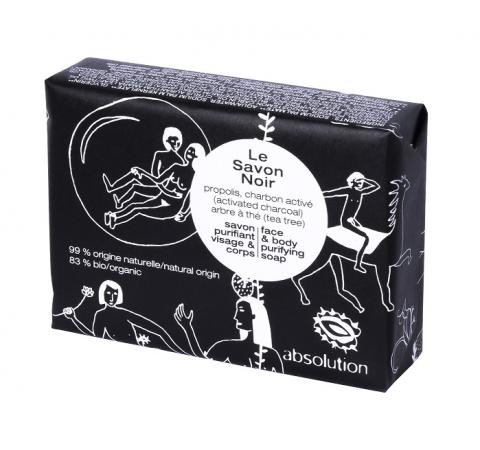 absolution Le Savon Noir, Seife schwarz 100g