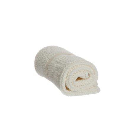 Iris Hantverk Wash Cloth White, Waschlappen aus Bio-Baumwolle Naturweiß 1 Stück