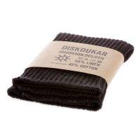 Iris Hantverk Household Cloth Black Linen/Cotton,...
