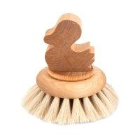 Iris Hantverk Bath Brush Duck, Badebürste für...