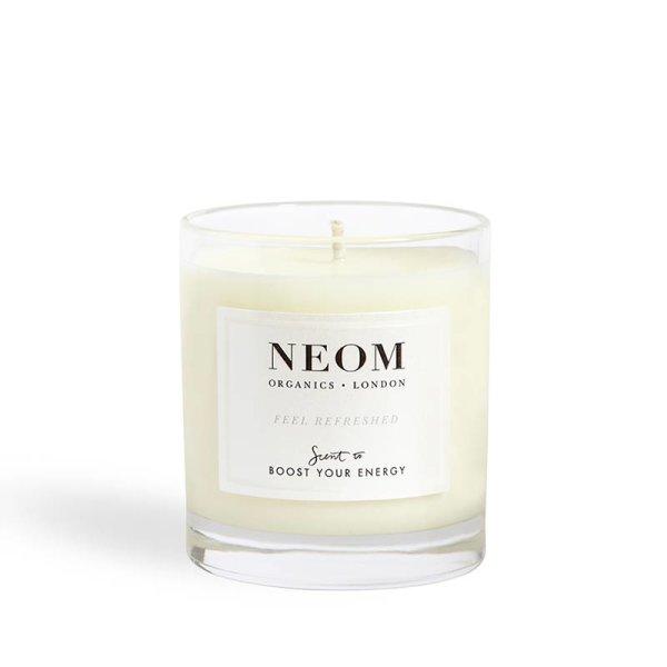 Neom Organics Candle Feel Refreshed, 1 Docht Duftkerze 185g