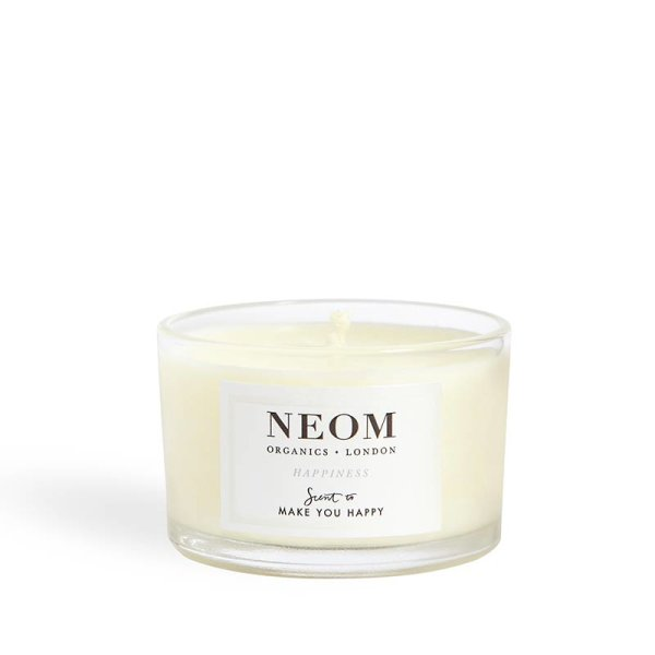 Neom Organics Candle Happiness, Duftkerze Travel 75g