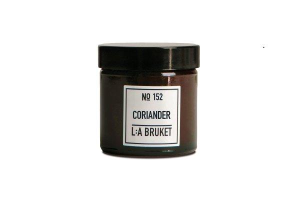L:a Bruket No. 152 Candle Coriander, Duftkerze Koriander TRAVEL 50g