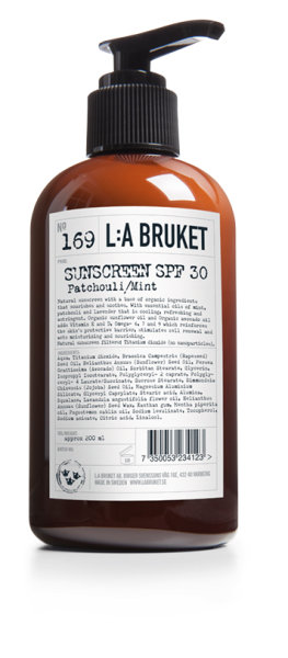 L:a Bruket No. 169 SUNSCREEN SPF30, Sonnencreme 200ml