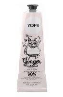 YOPE Natural Hand Cream Ginger & Sandalwood, Handcreme Ingwer & Sandelholz 100ml