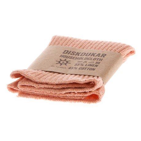 Iris Hantverk Household Cloth Dusty Pink Linen/Cotton, Spültuch Rosa 1 Stück
