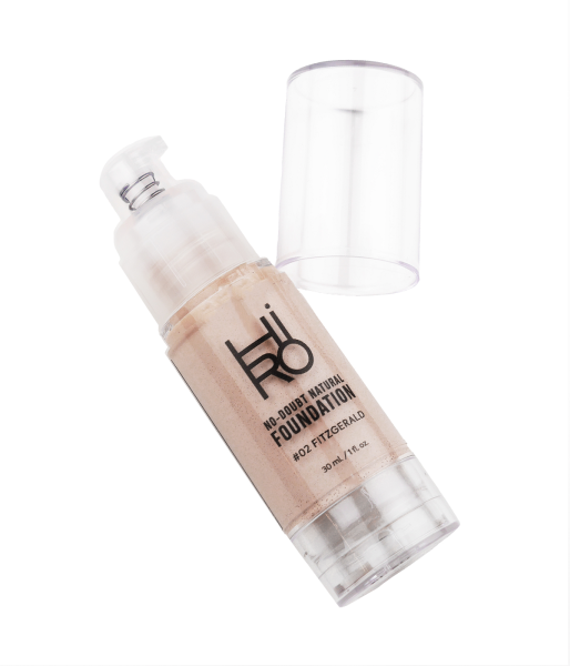 HIRO Cosmetics No Doubt Natural Foundation #02 Fitzgerald 30ml