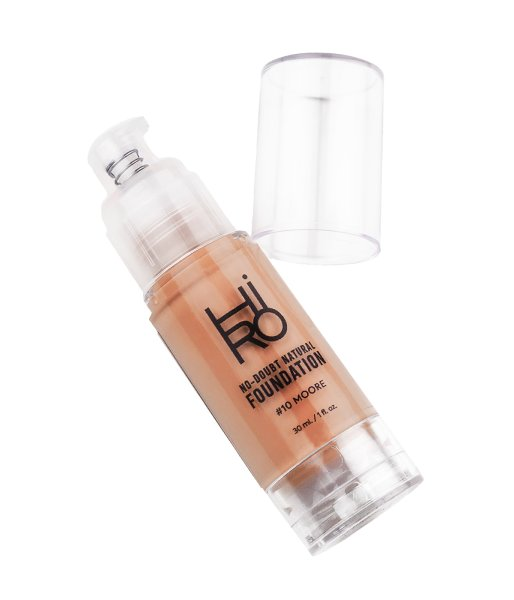 HIRO Cosmetics No Doubt Natural Foundation 10 Moore hell/mittel/neutral 30ml