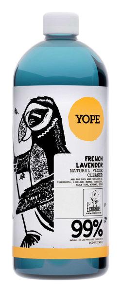 YOPE Natural Floor Cleaner French Lavender, Bodenreiniger Lavendel 1L