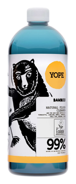 YOPE Natural Floor Cleaner Bamboo, Bodenreiniger Bambus 1L