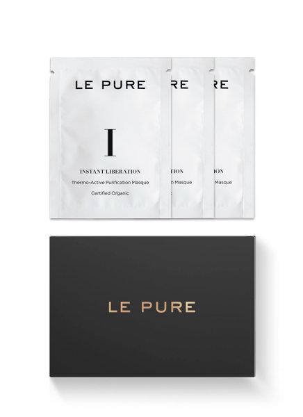LE PURE Instant Liberation, Tiefenreinigungsmaske 15 x1ml