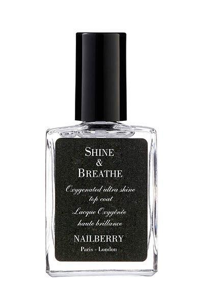 Nailberry LOxygéné Shine & Breathe Top Coat, Nagellack 15ml