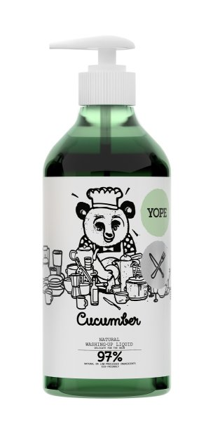 YOPE Washing-Up Liquid Cucumber, Spülmittel Gurke 750ml
