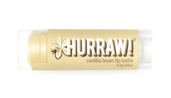 Hurraw! Vanilla Lip Balm, Lippenpflegestift Vanille 4,3g