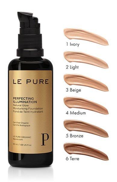 LE PURE Perfecting Illumination, Pflegendes Make-Up