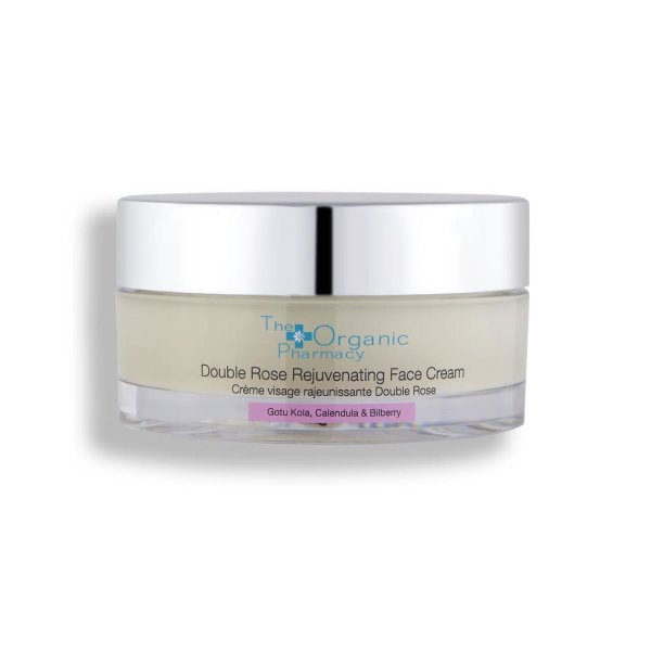 The Organic Pharmacy Double Rose Rejuvenating Face Cream, Feuchtigkeitsspendende Gesichtscreme 50ml