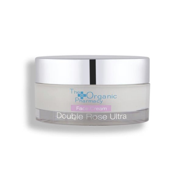 The Organic Pharmacy Double Rose Ultra Face Cream, Reichhaltige Tagespflege 50ml