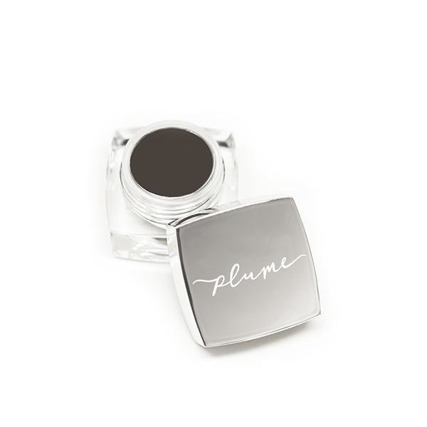 plume nourish & define brow pomade Endless Midnight, Augenbraupomade Braun/Schwarz 5ml
