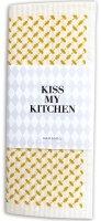 Kiss My Kitchen Household Cloth Pali Pur White/Yellow,...