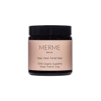 Merme Berlin Deep Clean Facial Mask - 100% Organic Green...