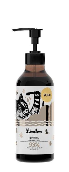YOPE Natural Shower Gel Linden, Duschgel Linde 400ml