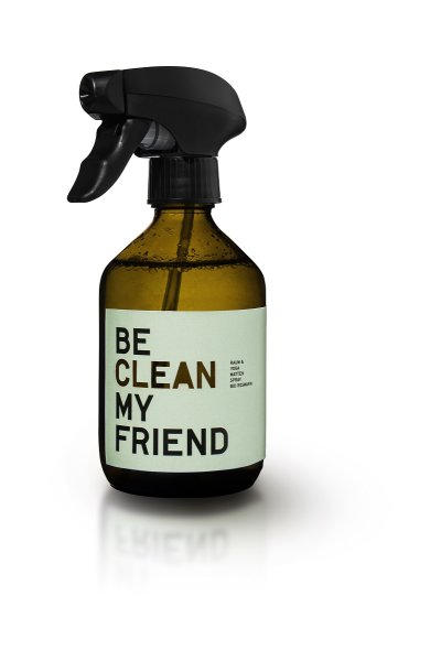 be [...] my friend - be clean my friend, Yogamatten- und Raumspray Rosmarin 300 ml