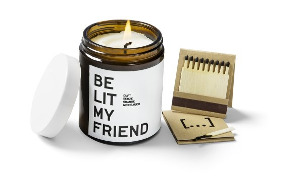 be [...] my friend - be lit my friend, Candle Rosmarin/Melisse 120ml