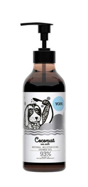 YOPE Natural Shower Gel Coconut & Sea Salt, Duschgel Kokos & Meersalz 400ml