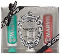MARVIS Travel With Flavour, Zahnpasta-Set 3x25ml
