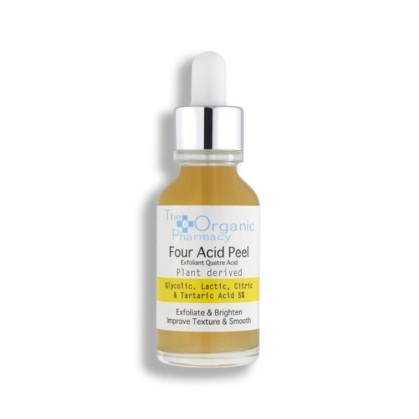 The Organic Pharmacy Four Acid Peel 5%, AHA-Konzentrat 30ml