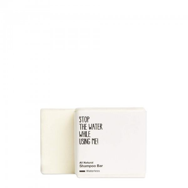 stop the water while using me All natural Shampoo Bar Waterless, Haarseife 75g
