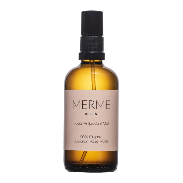 Merme Berlin Facial Antioxidant Mist, Rosenwasser 100ml