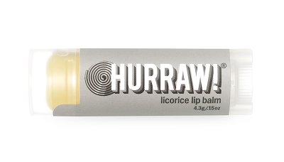 Hurraw! Licorice Lip Balm, Lippenpflegestift Lakritz 4,3g