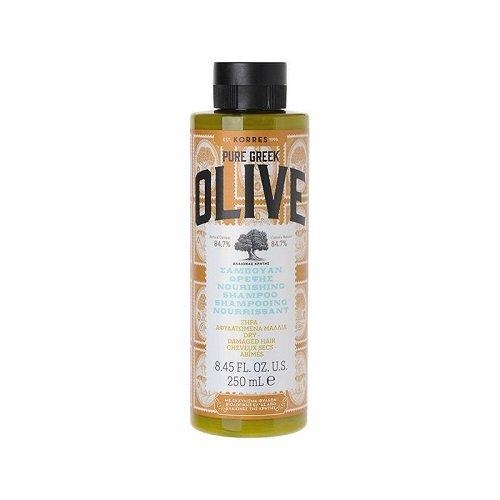 Korres Pure Greek Olive Nourishing Shampoo, trockenes Haar 250ml