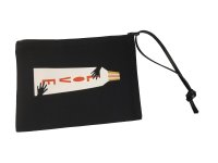 greenglam x the colorful crew LOVE bag black leather...